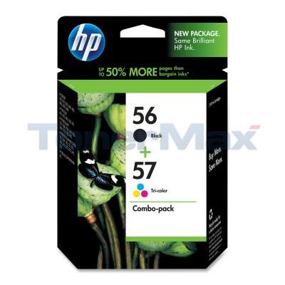 HP NO 56 57 INK CARTRIDGE CMYK COMBO PACK